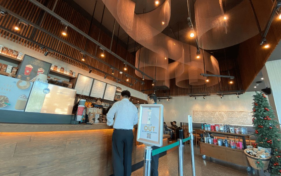 Decoration For Starbucks