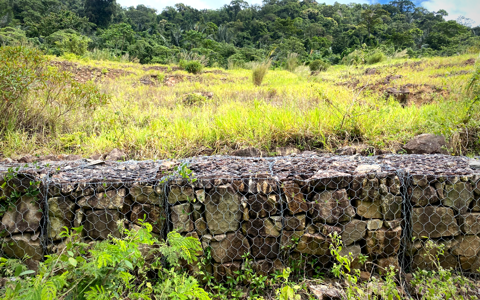 Gabion baskets For Retaining Wall In Cambodia