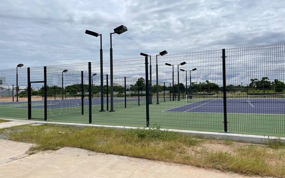 PVC Welded Wire Mesh For Tennis Court.